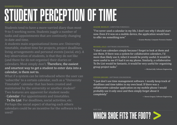 01 - Student Perception of Time