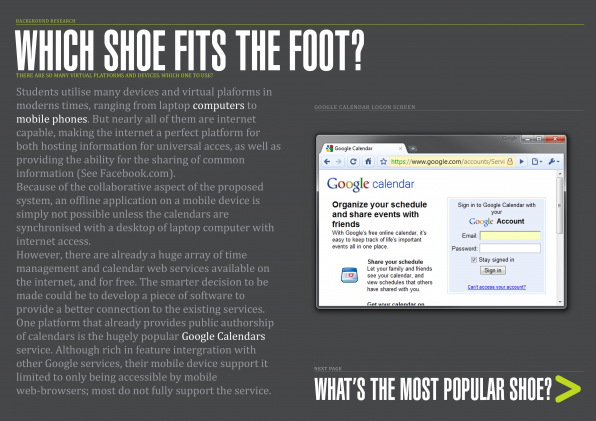 02 - Which Shoe Fits The Foot