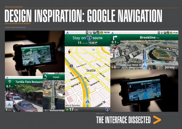 14 - Design Inspiration Google Maps Navigation