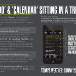 14 - 'To Do' and 'Calendar' Sitting In A Tree