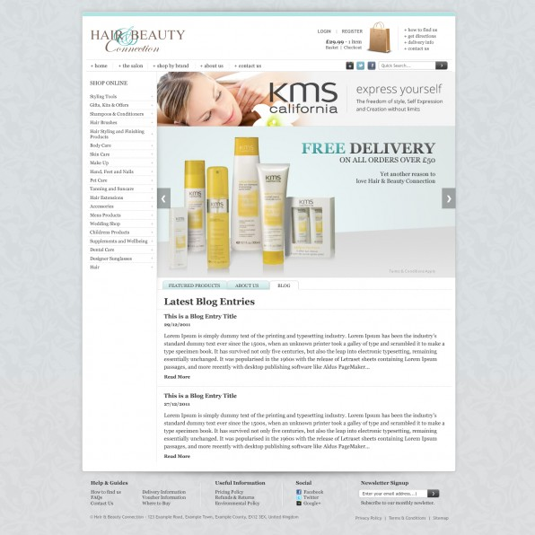 Hair & Beauty Connection homepage FINAL (Blog Tab)