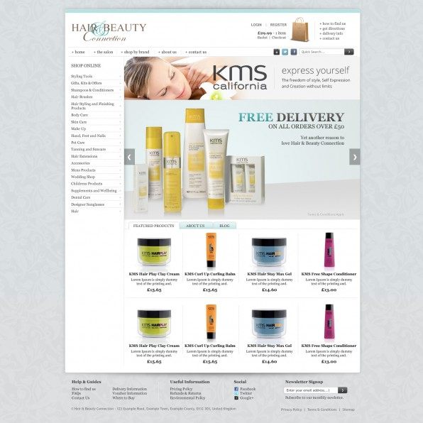 Hair & Beauty Connection homepage FINAL (Featured Tab)